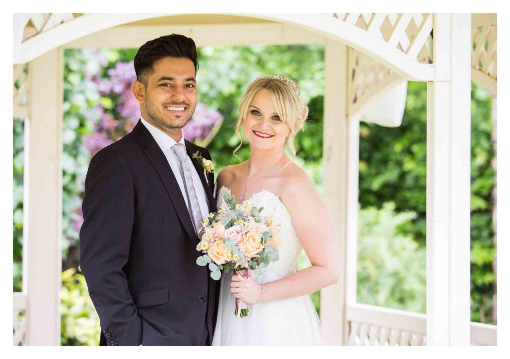 wedding at Warwick house