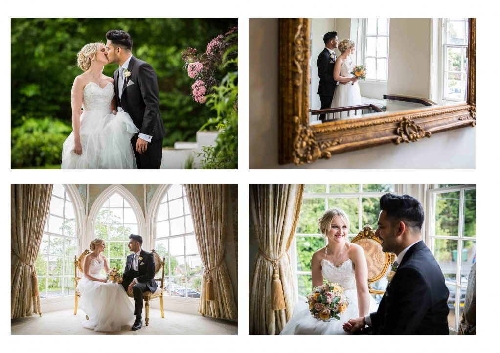 wedding at Warwick house