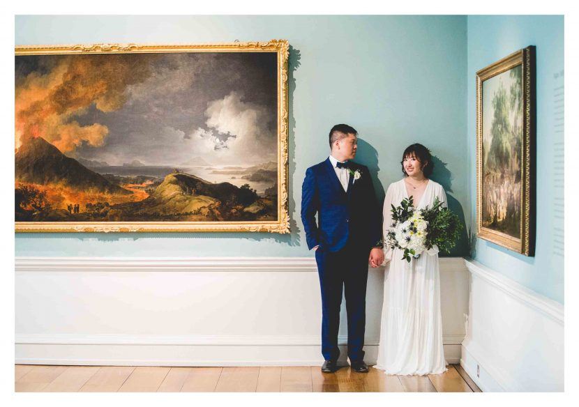 Wedding at Compton Verney